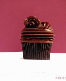 Dark Chocolate Cupcake with Chocolate Chambord Ganache