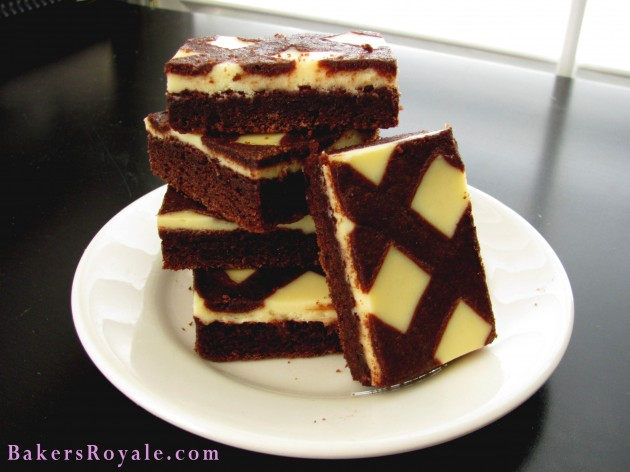 Black and White Brownie Bars