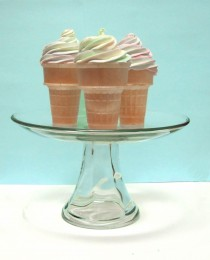 Rainbow Cupcake Cones for Easter