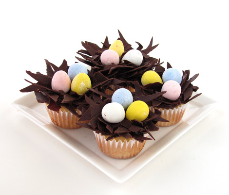 Nested Easter Egg Cupcakes