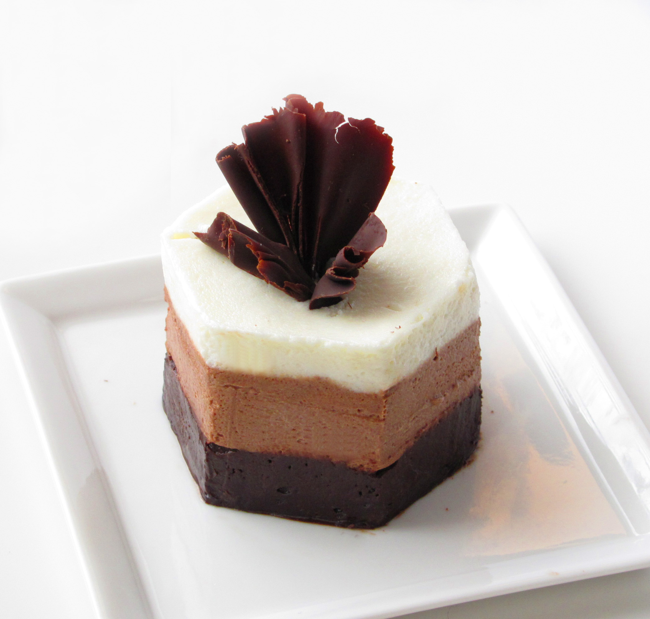 Fast Chocolate Mousse Cake