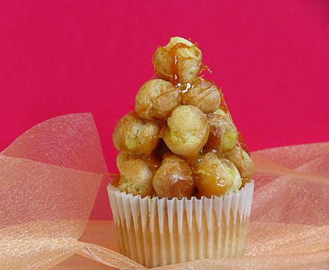 Croquembouche Cupcakes