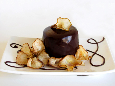Chocolate Lemon Pear Cake