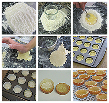 Baking Basics: How to make tartlette shells