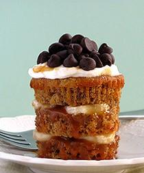 Banana Caramel Cupcakes Bakers Royale 250