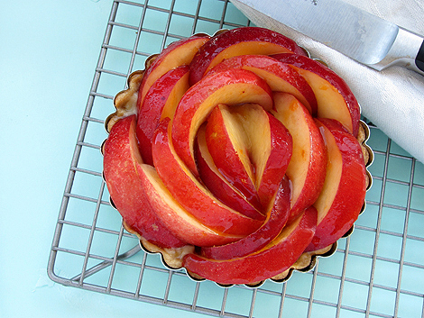 Honey and Ginger Nectarine Tart