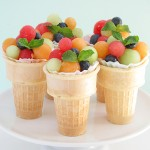 Fruit Salad Ice Cream Cones Bakers Royale 150x1501