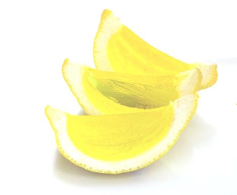 Lemon Drop Jello-O Shots