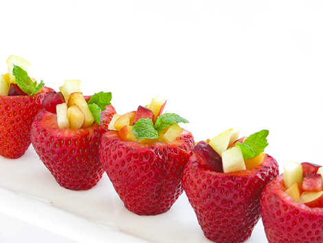 Strawberry Fruit Cups
