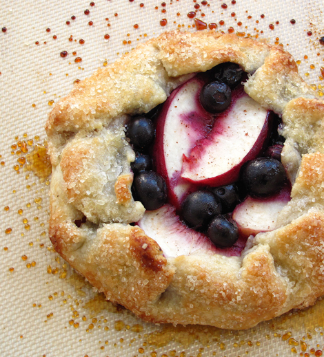 Blueberry Nectarine Crosata