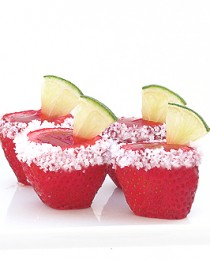 Strawberry Margarita Jello Shooters 21 210x260