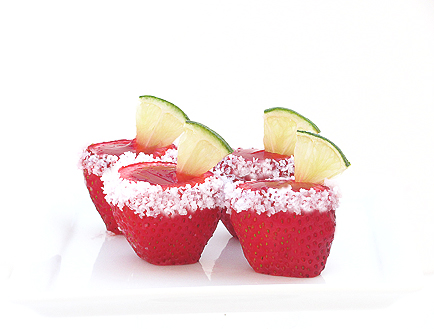 Strawberry Margarita Jello Shooters 211