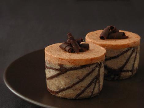 Pumpkin Caramel Mousse Cake
