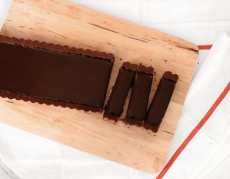 Ingrid's Chocolate Truffle Tart