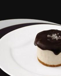 Salted Peanut No-Bake Cheesecake