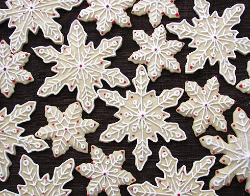 Snowflake Sugar Cookies Bakers Royale21
