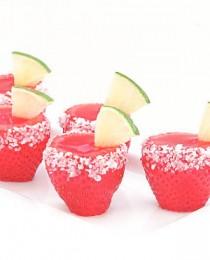 #1 Strawberry Maragarita Jello Shooter