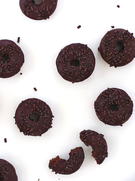 Chocolate Stout Donuts