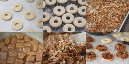 HOMEMADE SAMOAS COOKIES STEP BY STEP1