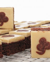 Irish Brownie Bombs