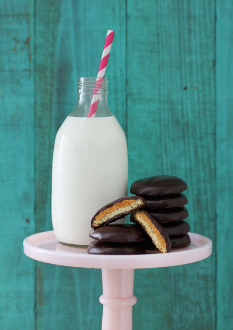 Homemade Tagalong Cookies