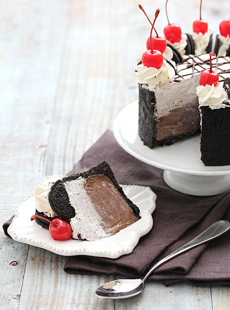 Oreo and Chocolate Silk Pie Cake Bakers Royale1