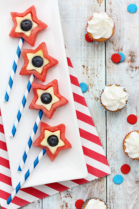 Berry Pops for the 4th of July