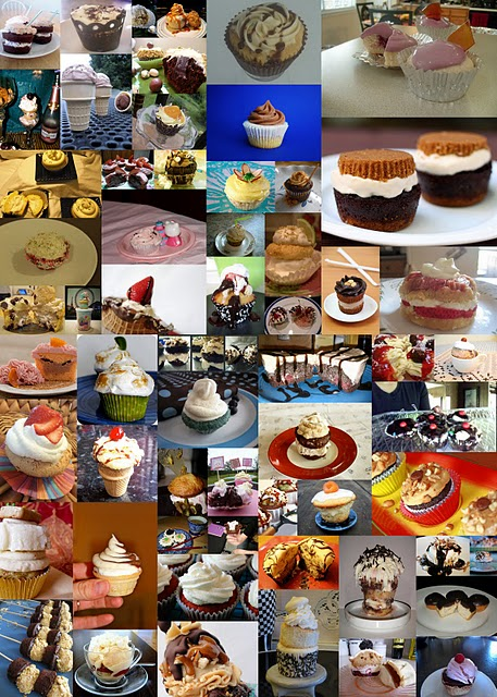 2011 Ice Cream Cupcake Contest Entries