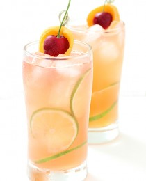 Apricot and Cherry Breezer