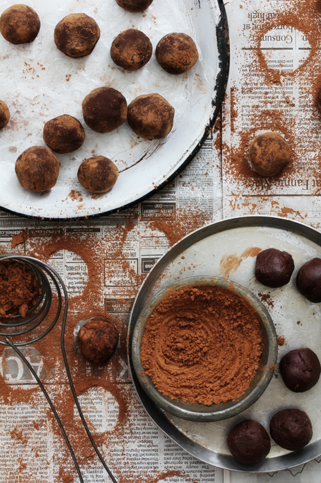 Salted Caramel and Whiskey Truffle Making Bakers Royale1