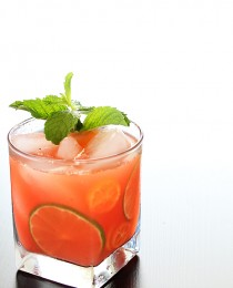 Strawberry and Kumquat Caipirinha_ Bakers Royale