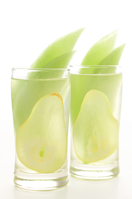 Honeydew and Pear Sangria