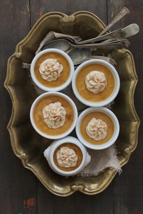 Caramel Pumpkin Pot de Creme Bakers Royale1