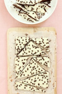 Chocolate Chip Cookie Dough Bark