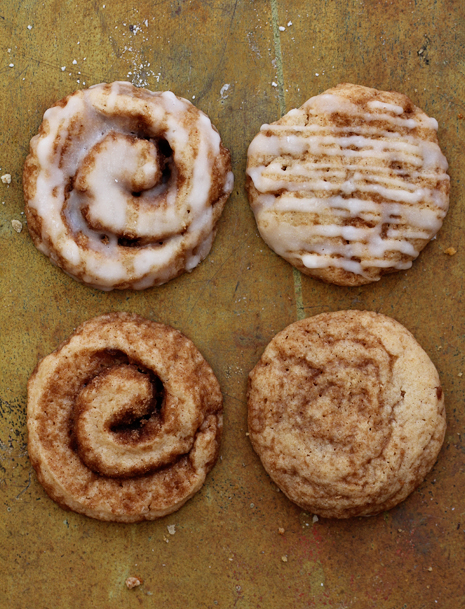 Cinnamon Roll Cookies Finishing Bakers Royale1