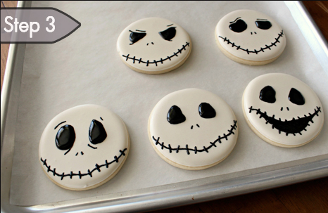 16 tim burton inspired treats for a nightmarish halloween party tim burton inspired rice krispies treats jack skellington sugar cookies and sugaring