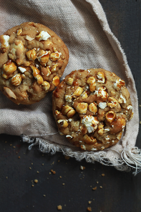 Caramel Popcorn and Cashew Cookies Bakers Royale 21