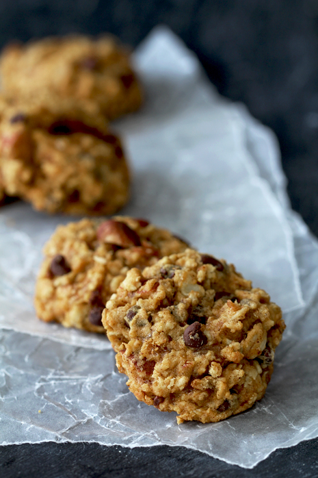 Pumpkin Chocolate Chip Oatmeal Cookie Bakers Royale 21