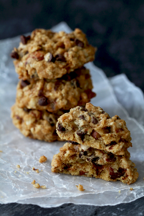 Pumpkin Chocolate Chip Oatmeal Cookie Bakers Royale1
