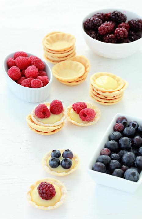 Mini Berry Tarts  Bakers Royale1