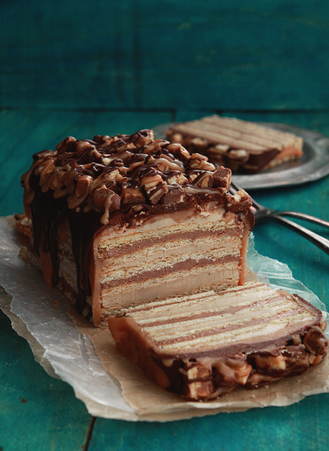 Snickers Icebox Cake Bakers Royale Snickers Cake