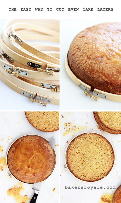 Tutorial How to cut even cake layers Bakers Royale1