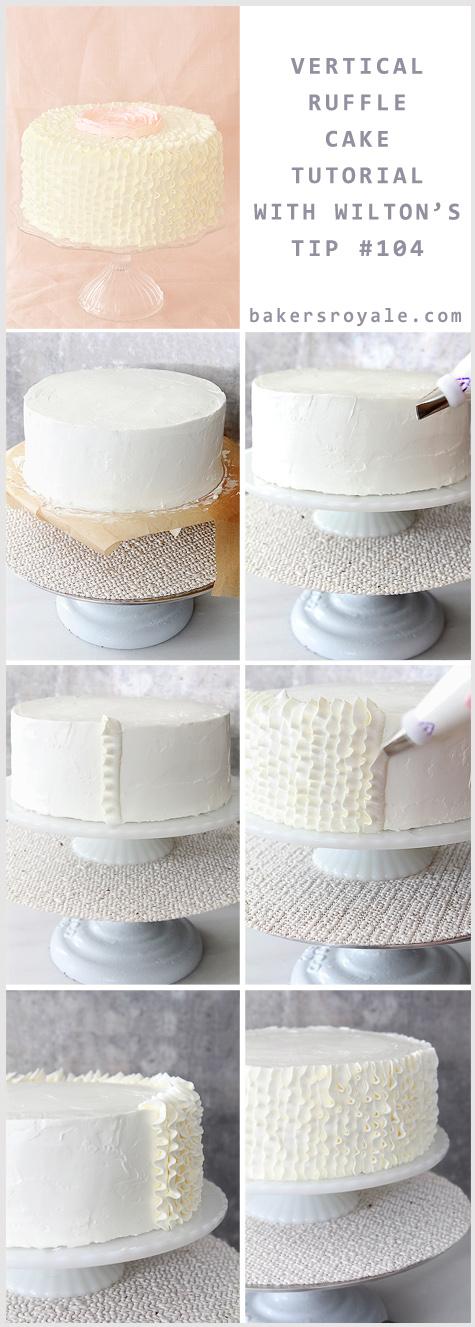 Vertical Ruffle Tutorial Bakers Royale