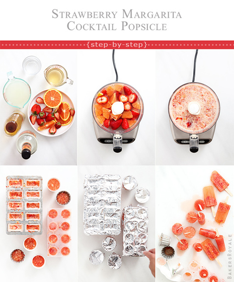 How to make a cocktail popsicle_Bakers Royale