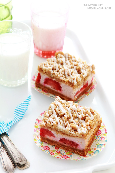 Strawberry Shortcake Bars Bakers Royale4