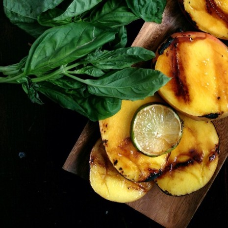 Grilled Mangos Bakers Royale