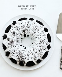 Oreo Stuffed Bundt Cake by Bakers Royale 2 210x260