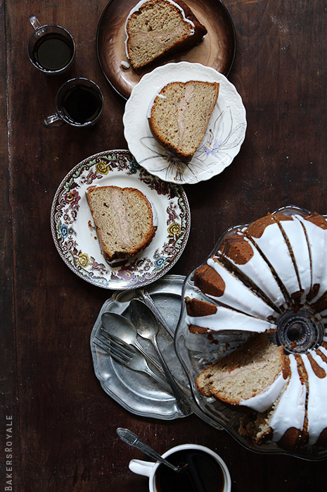 Apple Butter Cake via Bakers Royale1