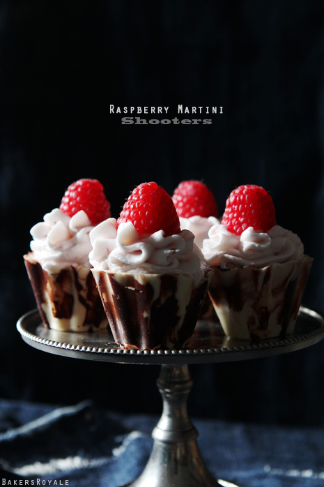 Raspberry Martini Shooters by Bakers Royale1