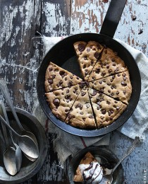 Skillet Chocolate Chip Cookie by Bakers Royale2 210x260